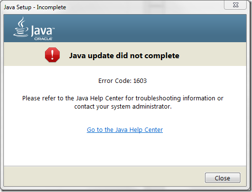 2015-04-16 10_05_53-Java Setup - Incomplete