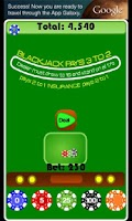 Screenshot of BlackJack Casino Card Game