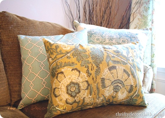 diy pottery barn pillows