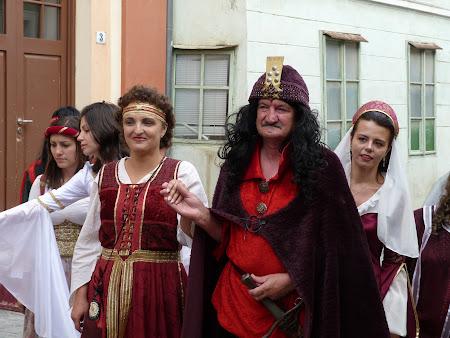 Obiective turistice Romania: Vlad Tepes cu o domnita
