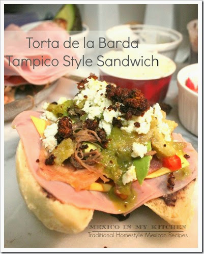 Tampico Style Sandwich