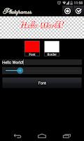 Screenshot of PhotoFrames Pro