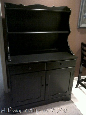 new look for old vintage hutch