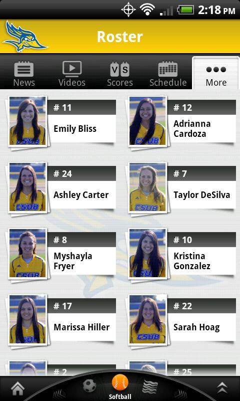 CSUB Athletics: Premium- screenshot