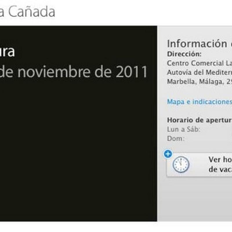 Extra: Apertura Apple Store La Cañada.