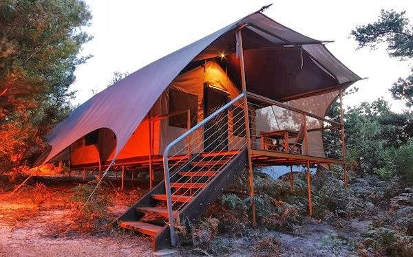 camping cape conran