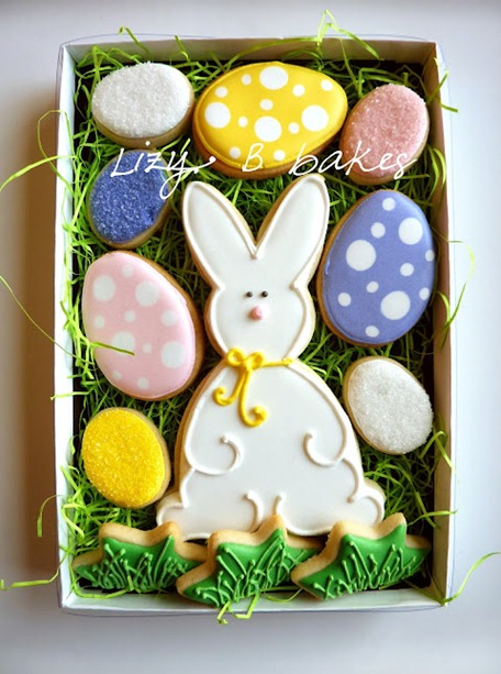 1 easter bunny cookies