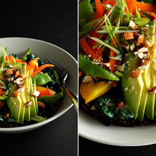 Warm Veggie Bowl With Ginger Miso Gravy