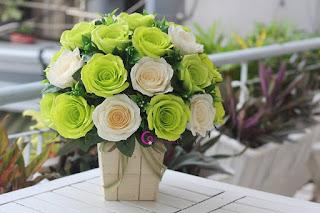 ... nên tặng gì cho mẹ và bạn gái. hoa giấy handmade 8-3