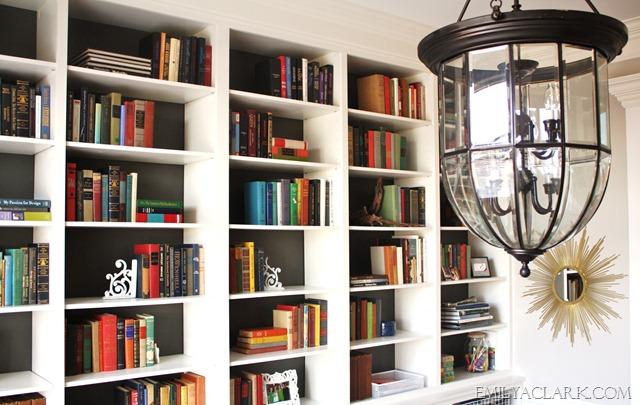 home office lantern lighting