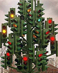 traffic lights navigation