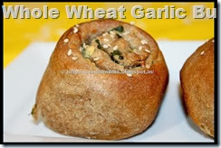 Whole Wheat Garlic Buns