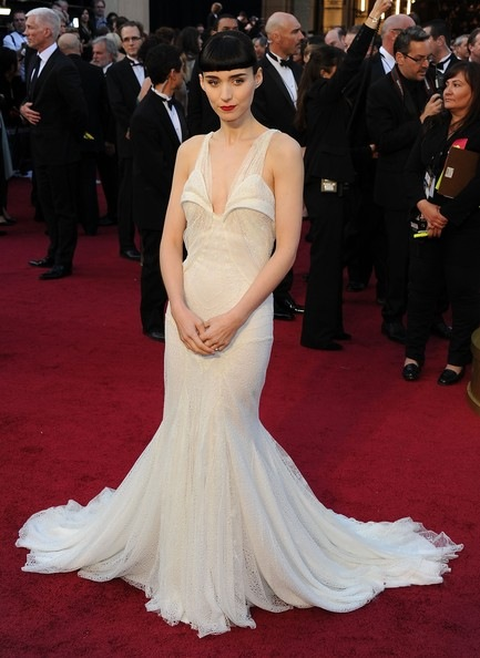 Rooney Mara arrives at the 84th Annual Academy Awards