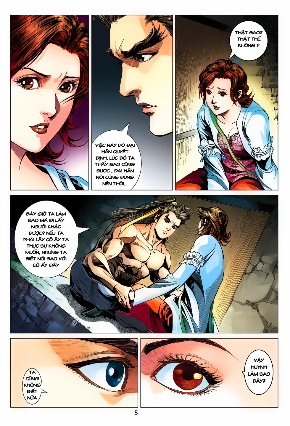 Anh Hùng Xạ Điêu anh hùng xạ đêu chap 61: thất tử chiến thiết thi trang 5