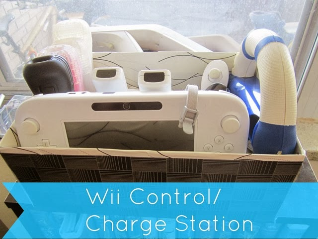 wii controller and charger station