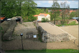 Grundmauern der inneren Burg