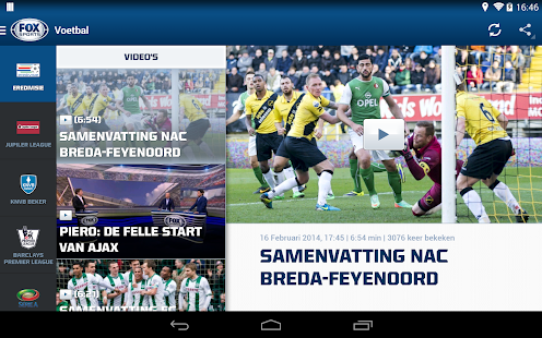 FOX Sports NL Screenshot 18