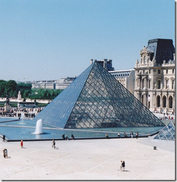 louvre glass pyramid