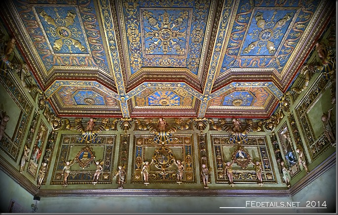 Palazzo Schifanoia, La Sala degli Stucchi, Foto2