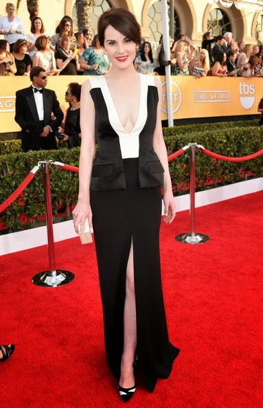 Michelle Dockery attends the 20th Annual Screen Actors Guild Awards