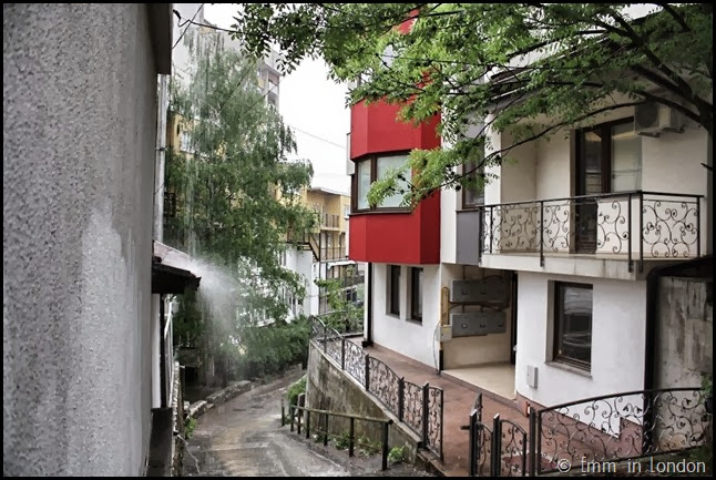 Sarajevo - shelter from the rain