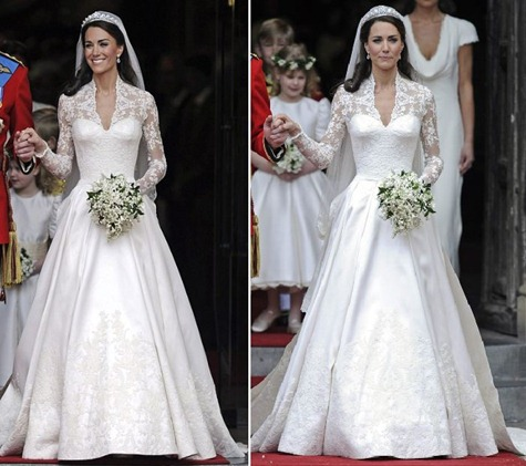 Catherine Chose Sarah Burton For Alexander Mcqueen That Was Not My Guess The Designer Her Dress Consisted Many Pieces Of Lace
