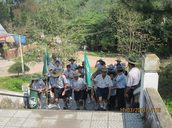 TraiDungThuaThioem2013 19 BHD GĐPT Thừa Thiên tổ chức Trại Dũng năm 2013