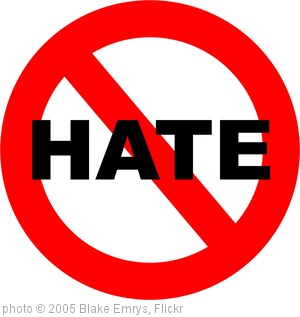 'no more hate' photo (c) 2005, Blake Emrys - license: http://creativecommons.org/licenses/by/2.0/