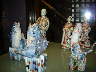 Porcelaine japonaise au Pavillon japonnais à Laeken