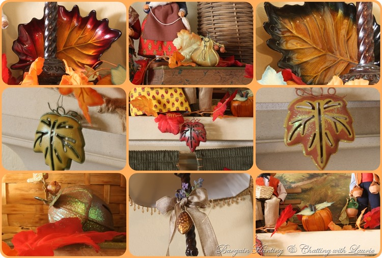 Fall Mantel-Bargain Hunting with Laurie