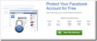 Respaldar tu cuenta de Facebook