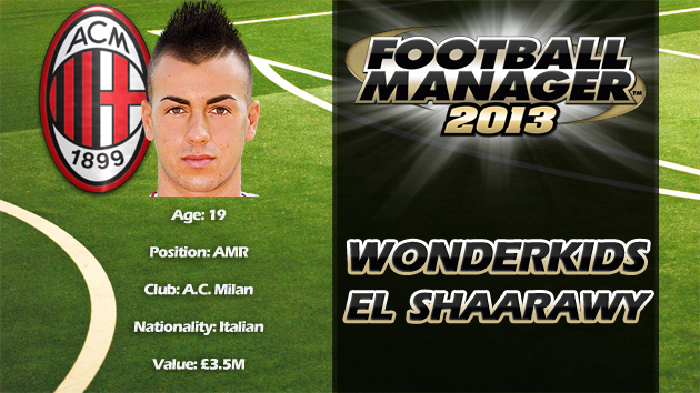 FM13 Wonderkid Review - Stephan El Shaarawy