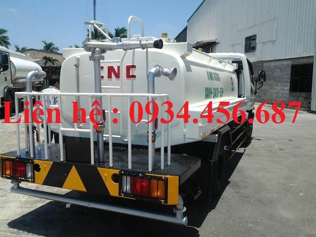 Xe rửa đường phun nước 6 khối Hyundai 110s