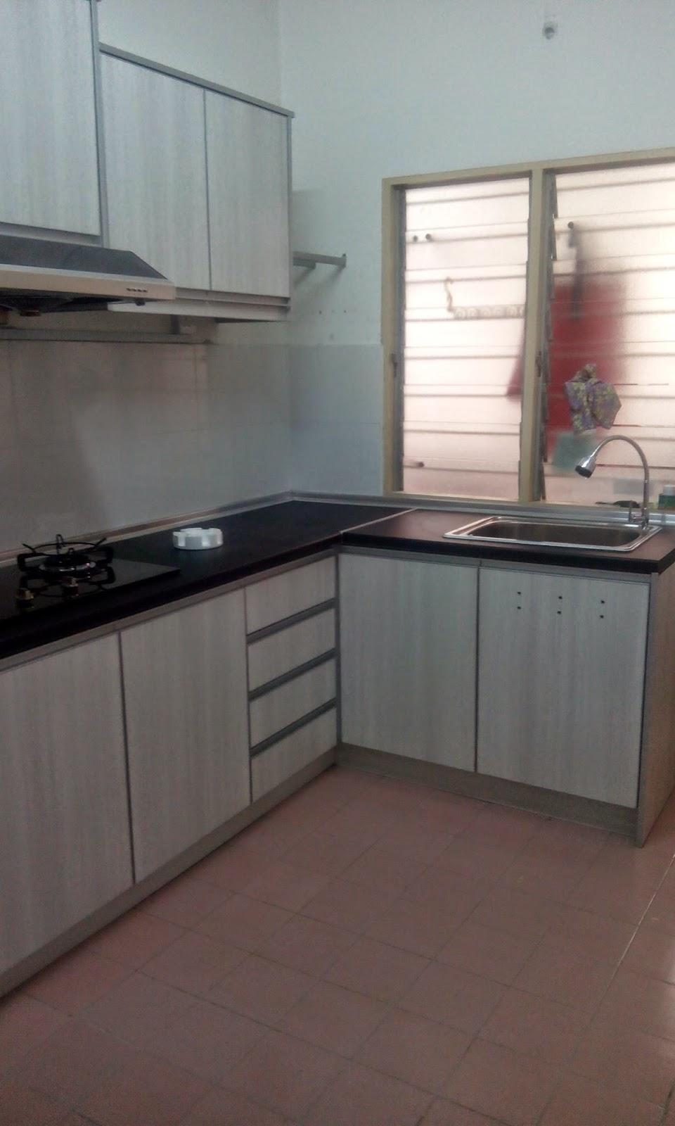 Kabinet Dapur Rumah Flat Ppr Desainrumahid