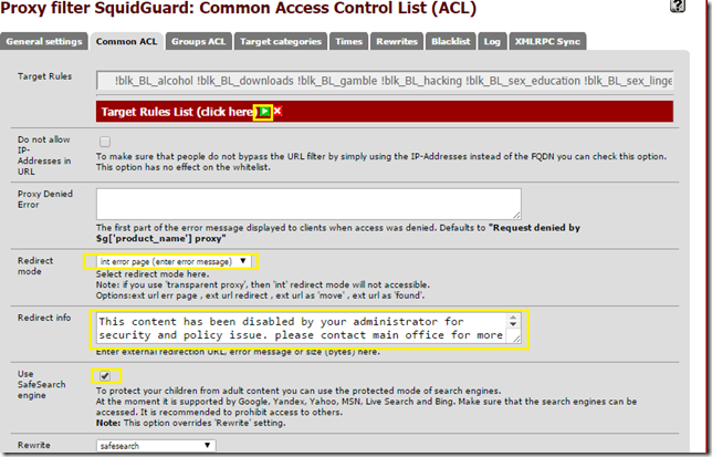 Setup Squid Guard (Proxy Server) on Pfsense - My Tech Website