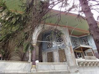 Palais Topkapi à Istanbul - Kiosque de Mustapha Pacha