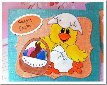 chick egg clipart digital easter 500 card