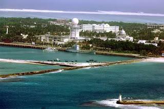 Đảo Phú Lâm thuộc quần đảo Hoàng Sa bị Trung Quốc chiếm đóng và biến thành trung tâm hành chính phi pháp