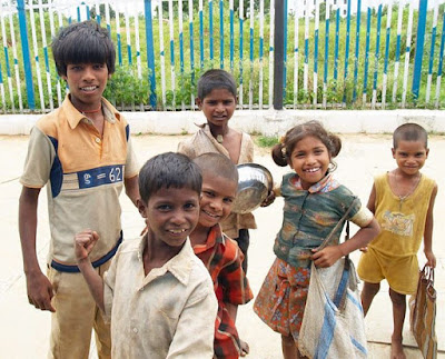I remember spending Christmas in India I think I was in grade