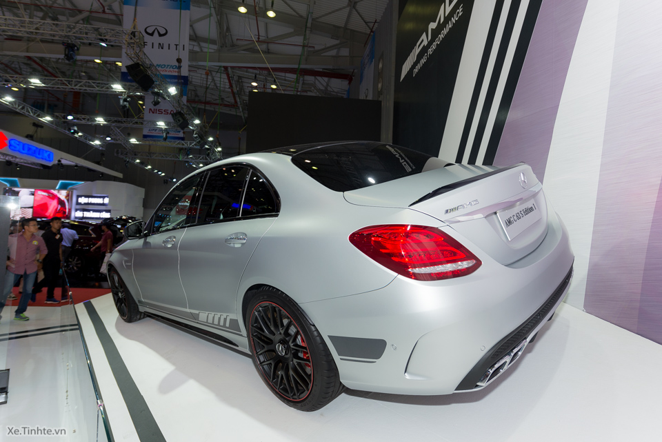 xe Mercedes Benz C63 S AMG 09