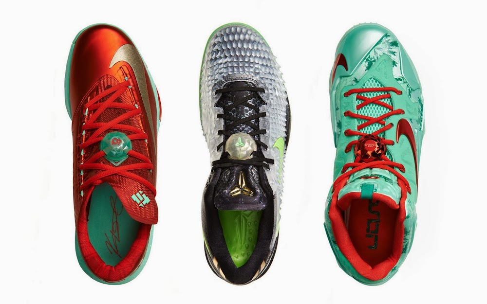 dfb632be585d ... Release Reminder Nike LeBron 11 Christmas Pack ...