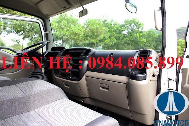 Nội thất xe Cabstar Đồng Vàng NS200 thùng kín