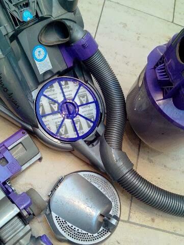Produktinfo Und Test Filter Reinigen Beim Alten Dc8 Von Dyson