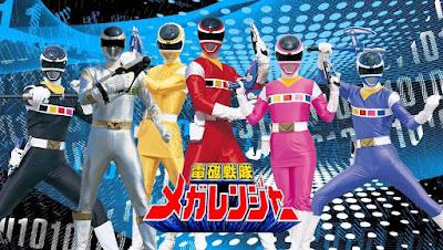 Siêu Nhân Điện Tử  Denji Sentai Megaranger