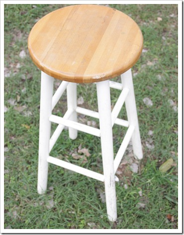 Thrift Store Bar Stool