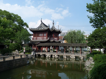 Obiective turistice Shanghai: gradina Yu