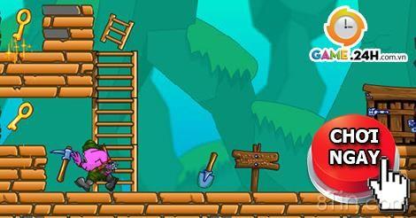 Trò chơi thợ mỏ tìm đường 2 game vui trí tuệ cực kỳ hấp dẫn