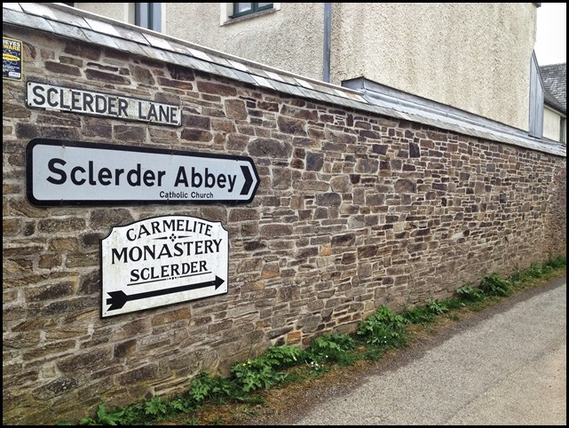 Sclerder Abbey Entrance, Looe