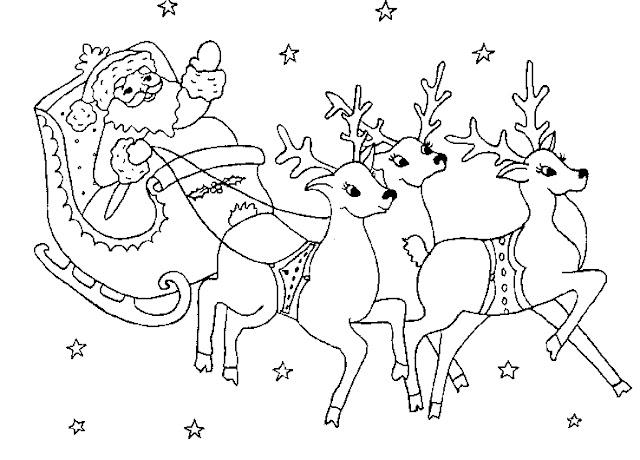 Dibujos Infantiles De Papa Noel Para Colorear En Navidad Papa Noel