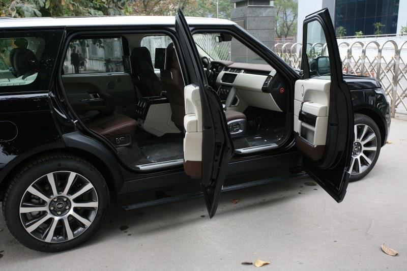 Nội Thất Xe Land Rover Range Rover Autobiography LWB Full Oftion màu đen 01